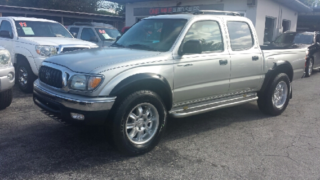 2004 TOYOTA TACOMA PRERUNNER V6 4DR DOUBLE CAB RWD silver clean title