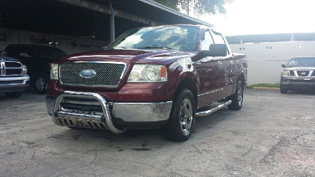 2006 FORD F-150 XLT 4DR SUPERCREW STYLESIDE 65 burgundry clean title