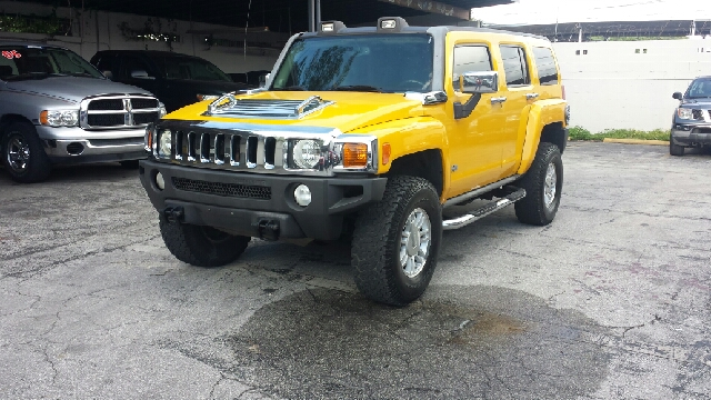 2007 HUMMER H3 BASE 4DR SUV 4WD yellow clean title