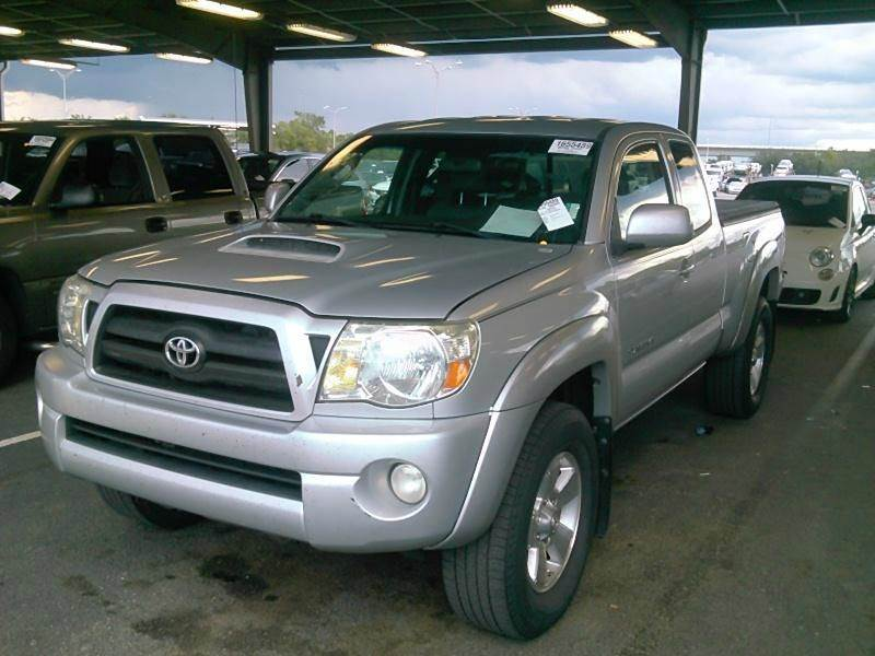 2007 TOYOTA TACOMA PRERUNNER V6 4DR ACCESS CAB 61 silver clean title