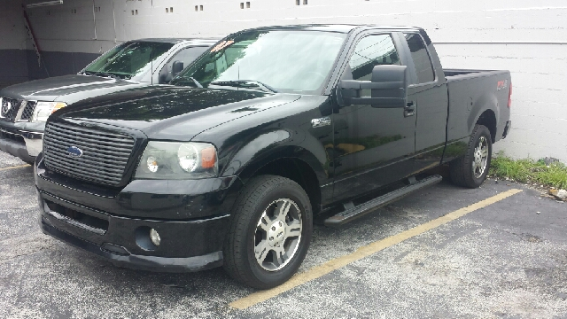 2007 FORD F-150 XLT 4DR SUPERCAB STYLESIDE 55 F black clean title