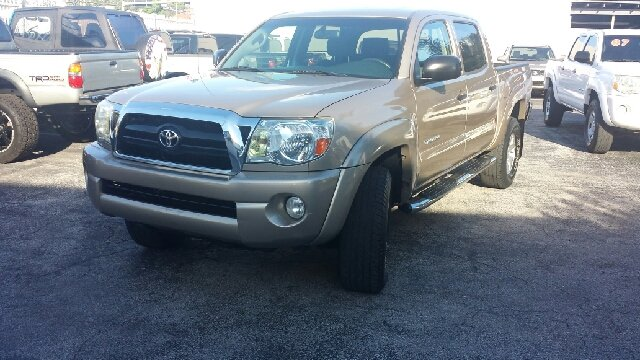 2005 TOYOTA TACOMA PRERUNNER V6 4DR DOUBLE CAB RWD beige clean title