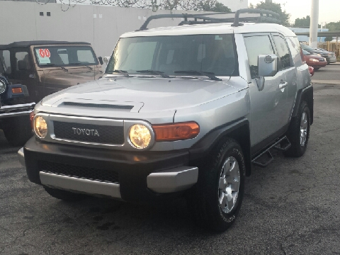 2007 toyota fj cruiser for sale miami fl. Black Bedroom Furniture Sets. Home Design Ideas