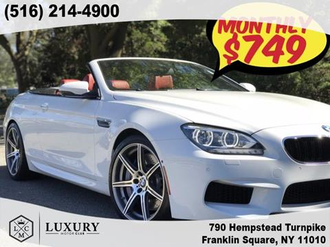2015 BMW M6 for sale in Franklin Square, NY