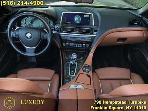 2015 BMW 6 Series for sale in Franklin Square, NY