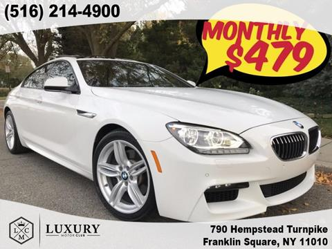 2014 BMW 6 Series for sale in Franklin Square, NY