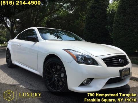 2015 Infiniti Q60 Coupe for sale in Franklin Square, NY