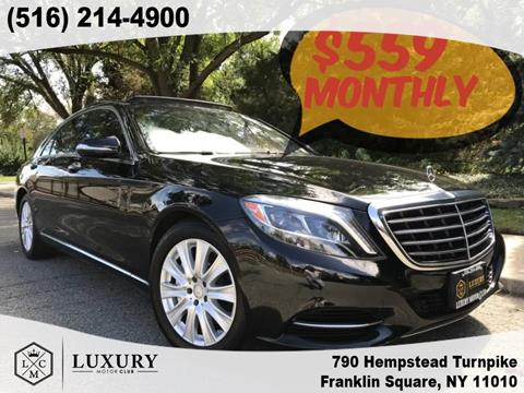 2015 Mercedes-Benz S-Class for sale in Franklin Square, NY