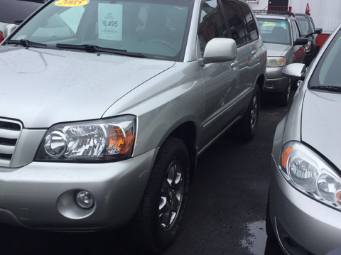 2005 Toyota Highlander for sale in Bronx, NY