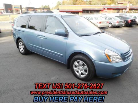2009 Kia Sedona for sale in Hot Springs, AR