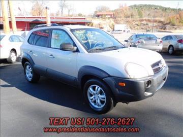 2006 Hyundai Tucson for sale in Hot Springs, AR