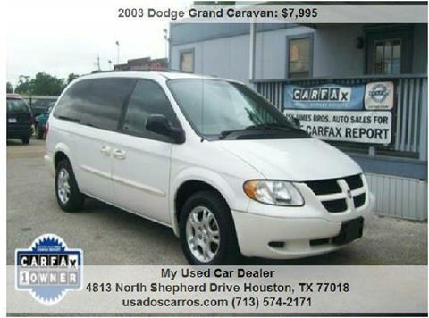 2003 Dodge Grand Caravan for sale in Houston, TX
