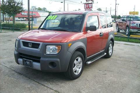2003 Honda Element for sale in Houston, TX