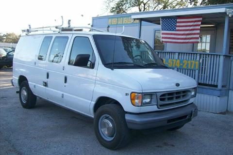 2002 Ford E-Series Cargo for sale in Houston, TX