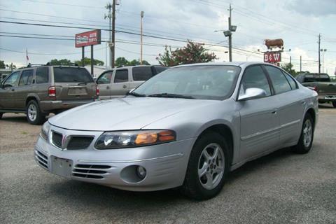 2001 Pontiac Bonneville for sale in Houston, TX