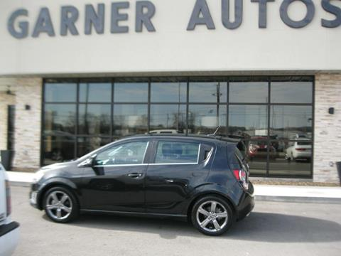 2014 Chevrolet Sonic for sale in Tuscumbia, AL