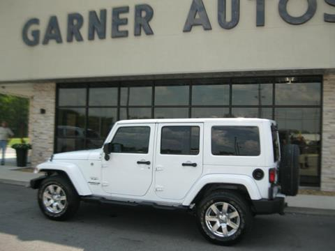 2016 Jeep Wrangler Unlimited for sale in Tuscumbia, AL