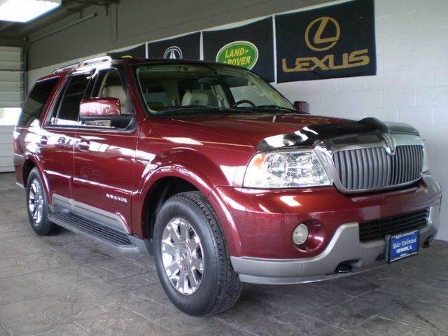 2003 LINCOLN NAVIGATOR LUXURY 4DR SUV burgundy call 9545105507 good credit bad credit no pr