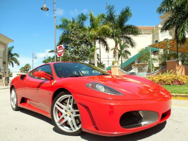 2008 FERRARI F430 BASE 2DR COUPE red call 9545105507 good credit lease avail bad credit no