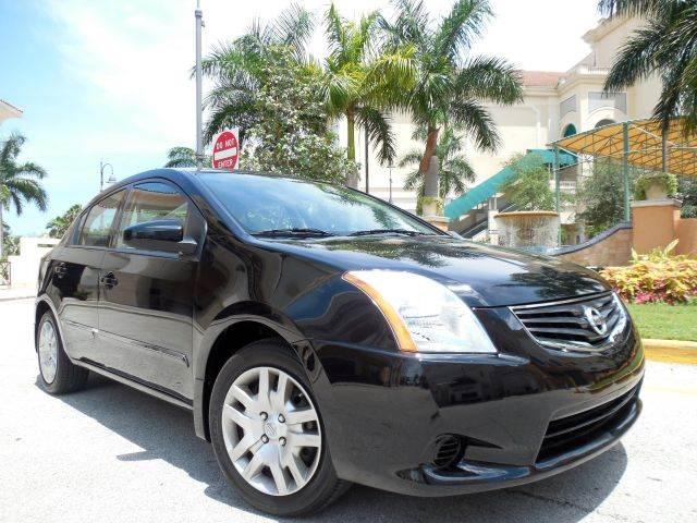 2012 NISSAN SENTRA 20 S 4DR SEDAN black call 9545105507 good credit bad credit no problem