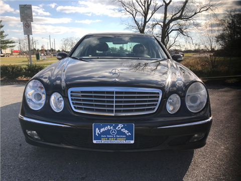 2005 Mercedes-Benz E-Class for sale in Bladensburg, MD