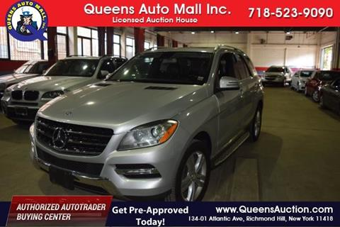 2012 Mercedes-Benz M-Class for sale in Richmond Hill, NY