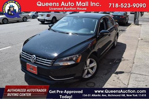 2012 Volkswagen Passat for sale in Richmond Hill, NY
