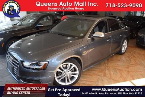 2014 Audi S4 for sale in Richmond Hill, NY