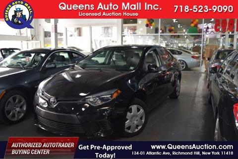 2016 Toyota Corolla for sale in Richmond Hill, NY