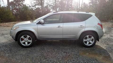 2004 Nissan Murano for sale in Ruther Glen, VA