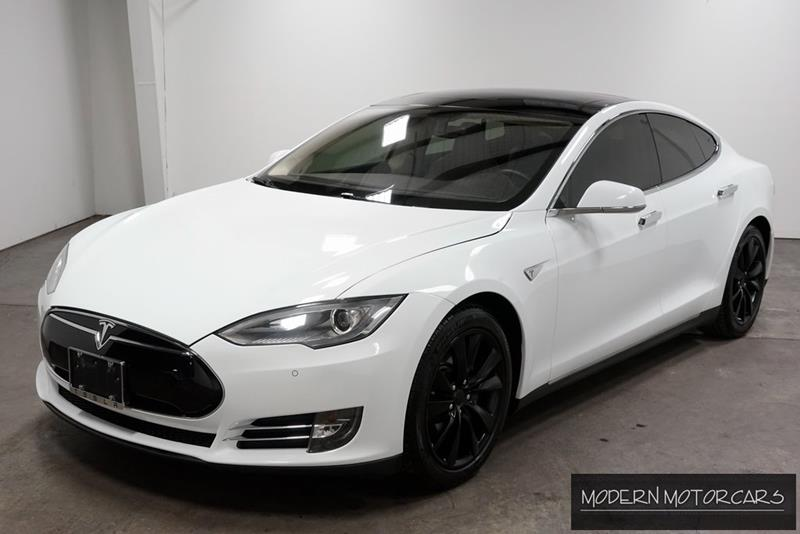 Gray Tesla Model S PD For Sale Carsforsalecom - 2014 tesla model s