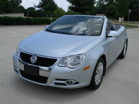 2008 volkswagen eos for sale. Black Bedroom Furniture Sets. Home Design Ideas