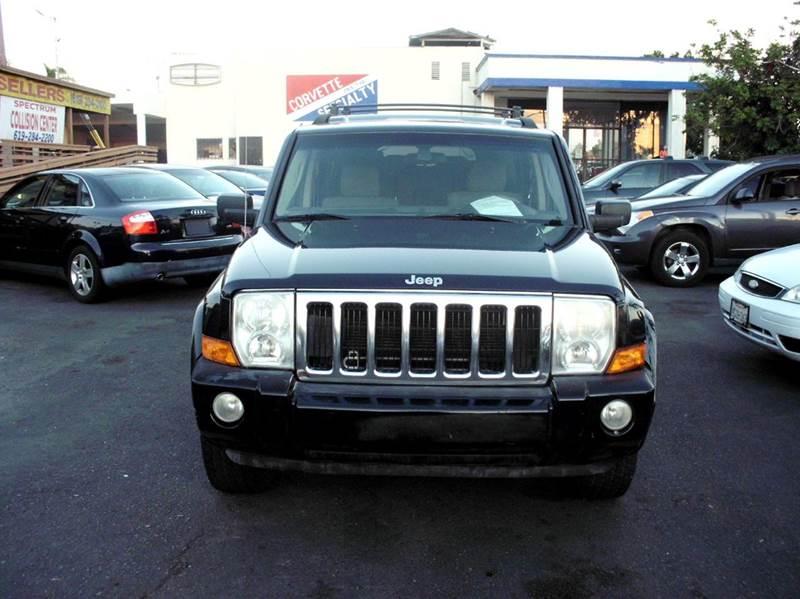 2008 Jeep Commander 4x2 Sport 4dr SUV - San Diego CA