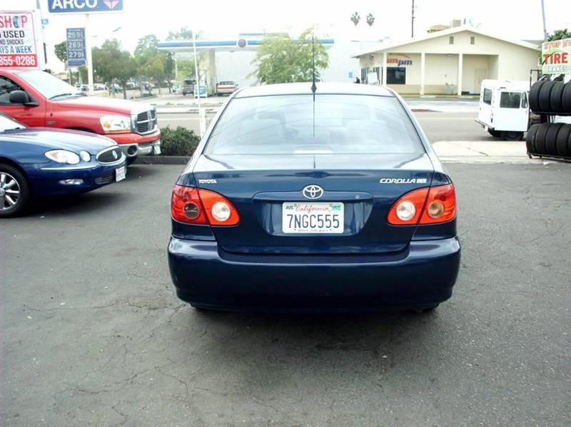 2008 Toyota Corolla CE 4dr Sedan 4A - San Diego CA