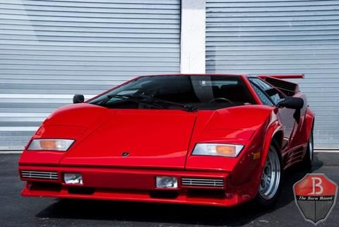 Captivating 1988 Lamborghini Countach For Sale In Miami, FL