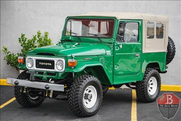 1984 Toyota Land Cruiser For Sale Carsforsale Com