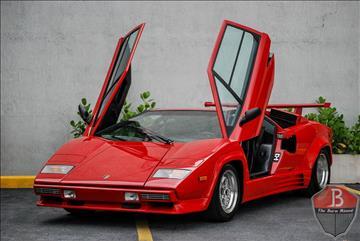 1988 Lamborghini Countach for sale in Miami, FL