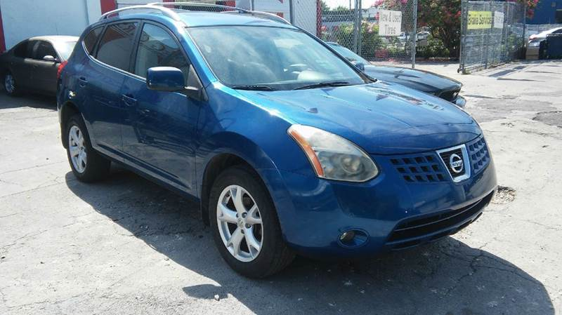 2008 NISSAN ROGUE SL CROSSOVER 4DR blue abs - 4-wheel active head restraints - dual front airba