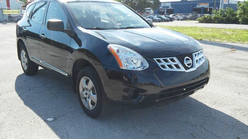 2013 NISSAN ROGUE S 4DR CROSSOVER black 2-stage unlocking - remote abs - 4-wheel active head re