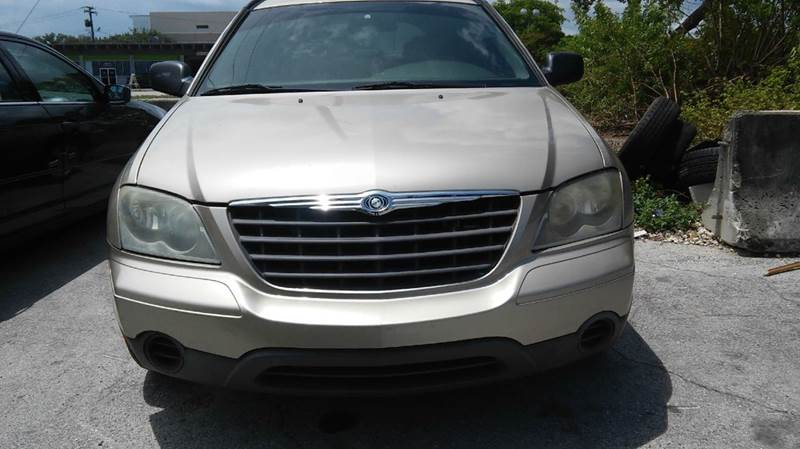 2006 CHRYSLER PACIFICA BASE 4DR WAGON gold abs - 4-wheel airbag deactivation - occupant sensing