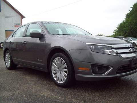 2011 Ford Fusion Hybrid for sale in Milford, NH