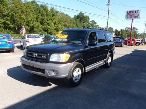 2002 Toyota Sequoia for sale in Wilmington, NC