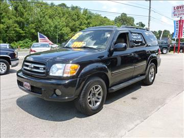 2004 Toyota Sequoia for sale in Wilmington, NC