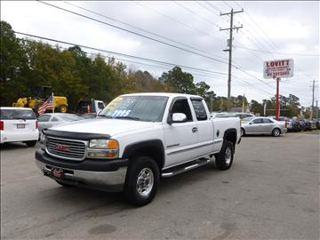 2001 GMC Sierra 2500HD for sale in Wilmington, NC