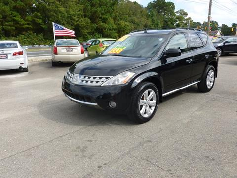 2007 Nissan Murano for sale in Wilmington, NC