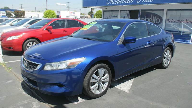 2008 HONDA ACCORD LX-S 2DR COUPE 5A blue abs - 4-wheel active head restraints - dual front air