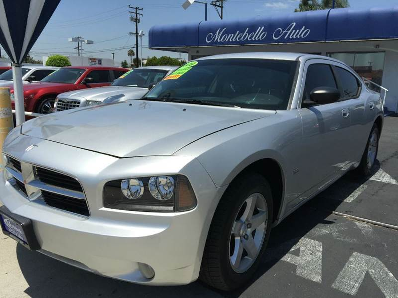 2009 DODGE CHARGER SXT 4DR SEDAN silver cash price  plus aplicable  fees 2-stage unlocking - remo