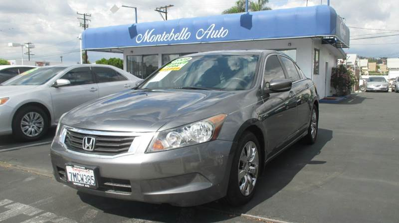 2009 HONDA ACCORD EX-L 4DR SEDAN 5A charcoal abs - 4-wheel active head restraints - dual front