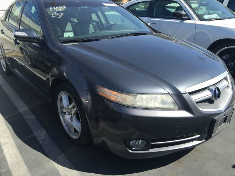 2007 ACURA TL BASE WNAVI 4DR SEDAN WNAVIGATI gray cash price plus aplicable fees 2-stage unlocki