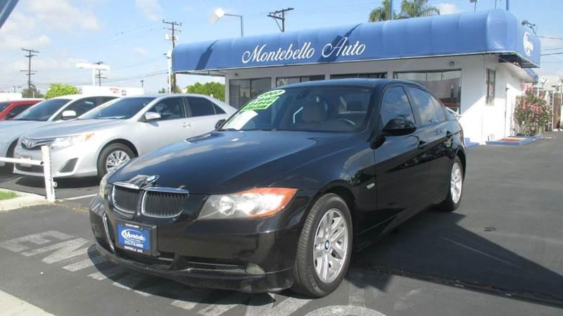 2007 BMW 3 SERIES 328I 4DR SEDAN black 2-stage unlocking - remote abs - 4-wheel air filtration